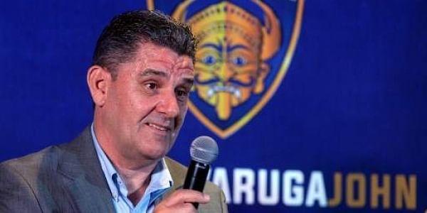 Chennaiyin FC's new head coach John Gregory | AFP