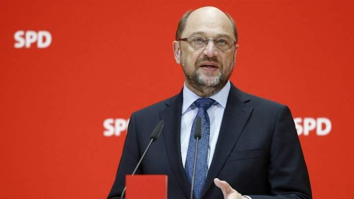 Germany's SPD's Schulz Says He Hasn't Given Green Light for Coalition
