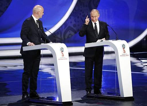 Federation Internationale de Football Association unveils details of 2018 World Cup Final Draw