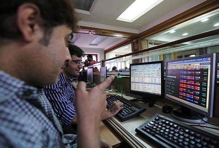 Sensex slips in cautious trade ahead of F&O, GDP data