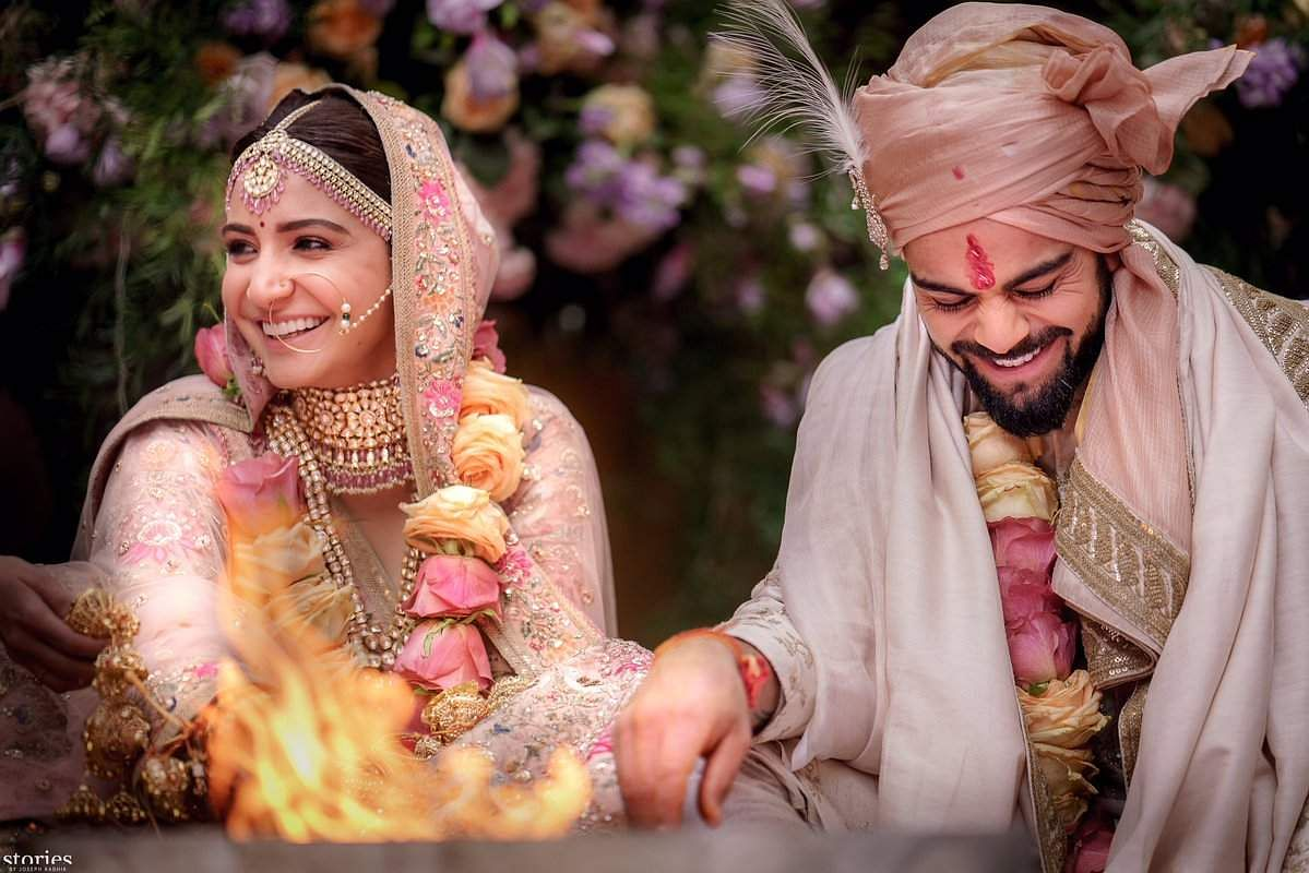 It's official! Virat Kohli and Anushka Sharma are married