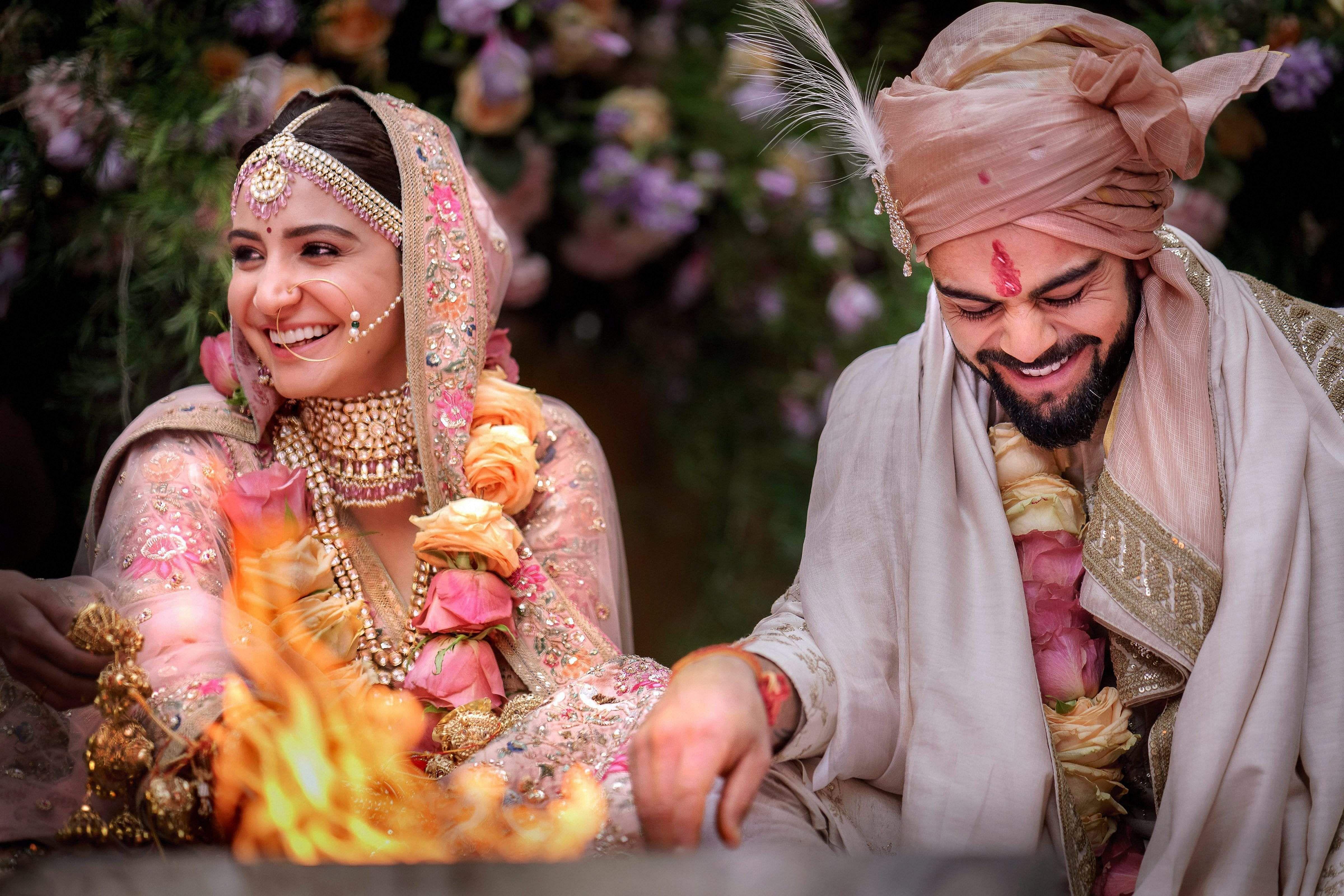 Virat Anushka Marriage Images picture