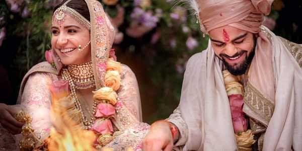 Indian cricket team captain Virat Kohli and Bollywood actress Anushka Sharma (Photo | Anushka Sharma Twitter)