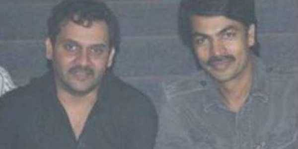 Vijay Sai (L) and Ravi Varma (R) in a picture shared by actor Ravi Varma on his Facebook page.