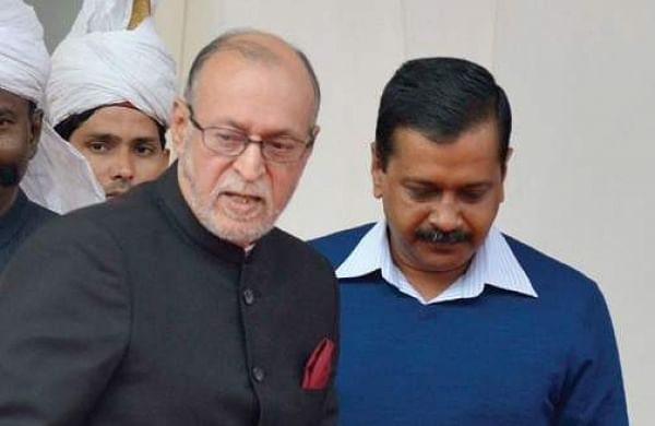 Delhi Lieutenant Governor Anil Baijal and CM Arvind Kejriwal (File | EPS)