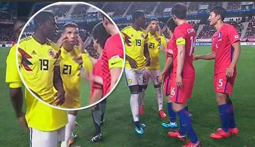 FIFA bans Colombia midfielder Cardona 5 games for gesture