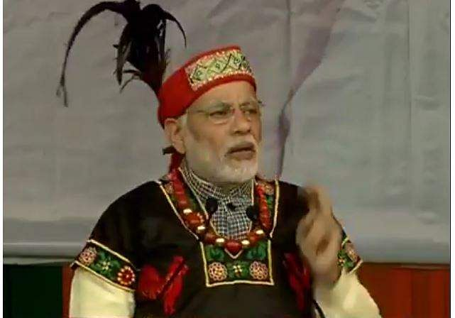 Want to make Meghalaya top tourist destination: PM Modi