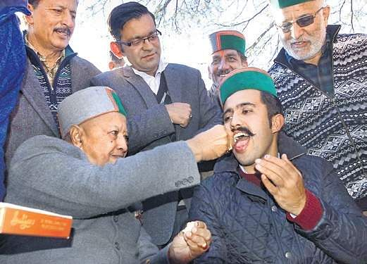 Final result tally of Himachal Pradesh election 2017