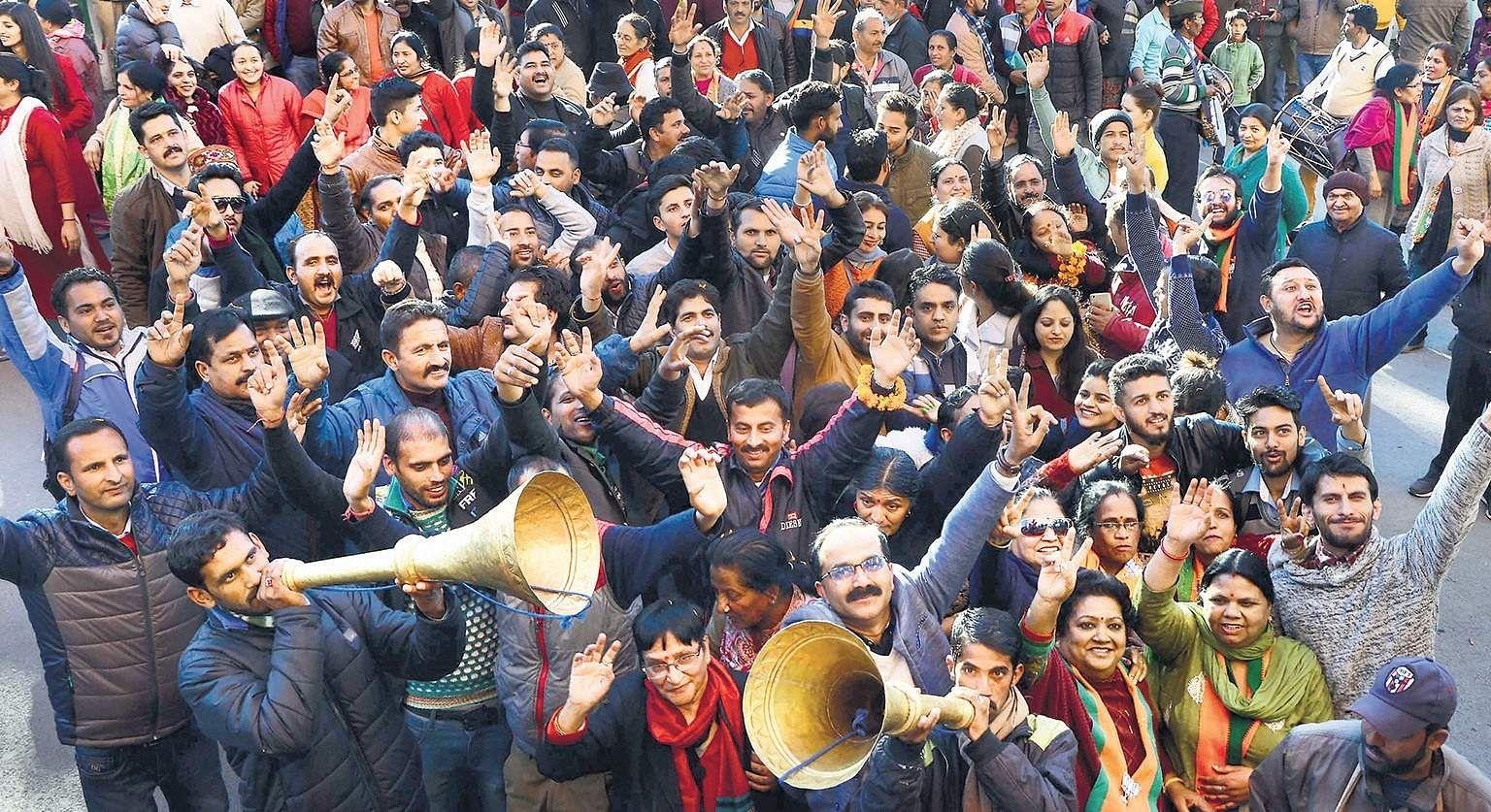 JP Nadda, Jairam Thakur emerge as BJP favourites for Himachal CM