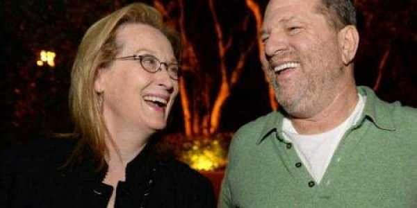 File photo of Meryl Streep and Harvey Weinstein. | AP