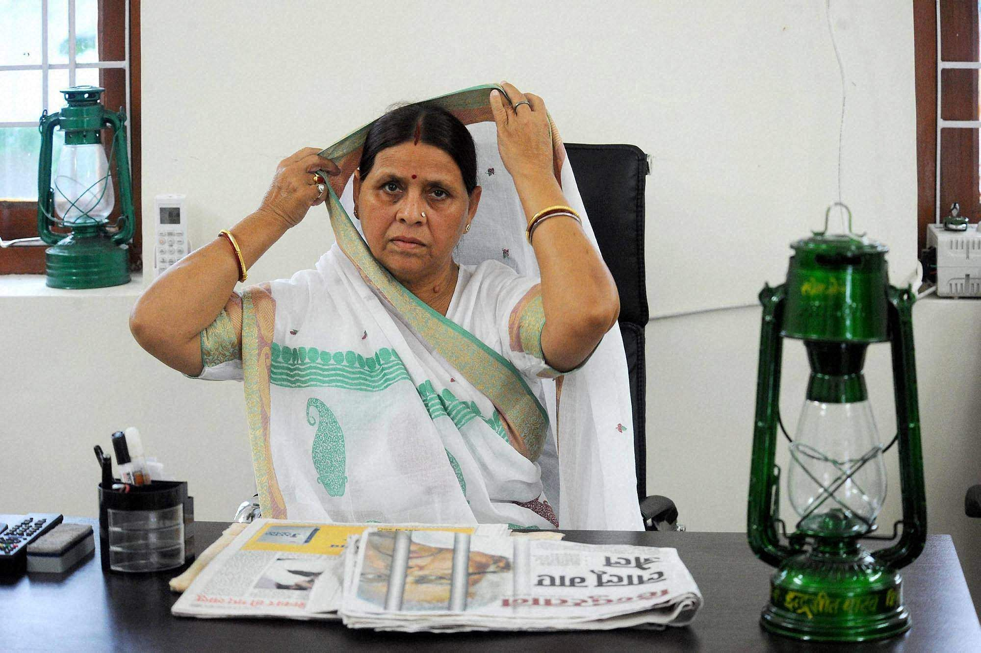 Enforcement Directorate grills Rabri Devi in IRCTC hotels case