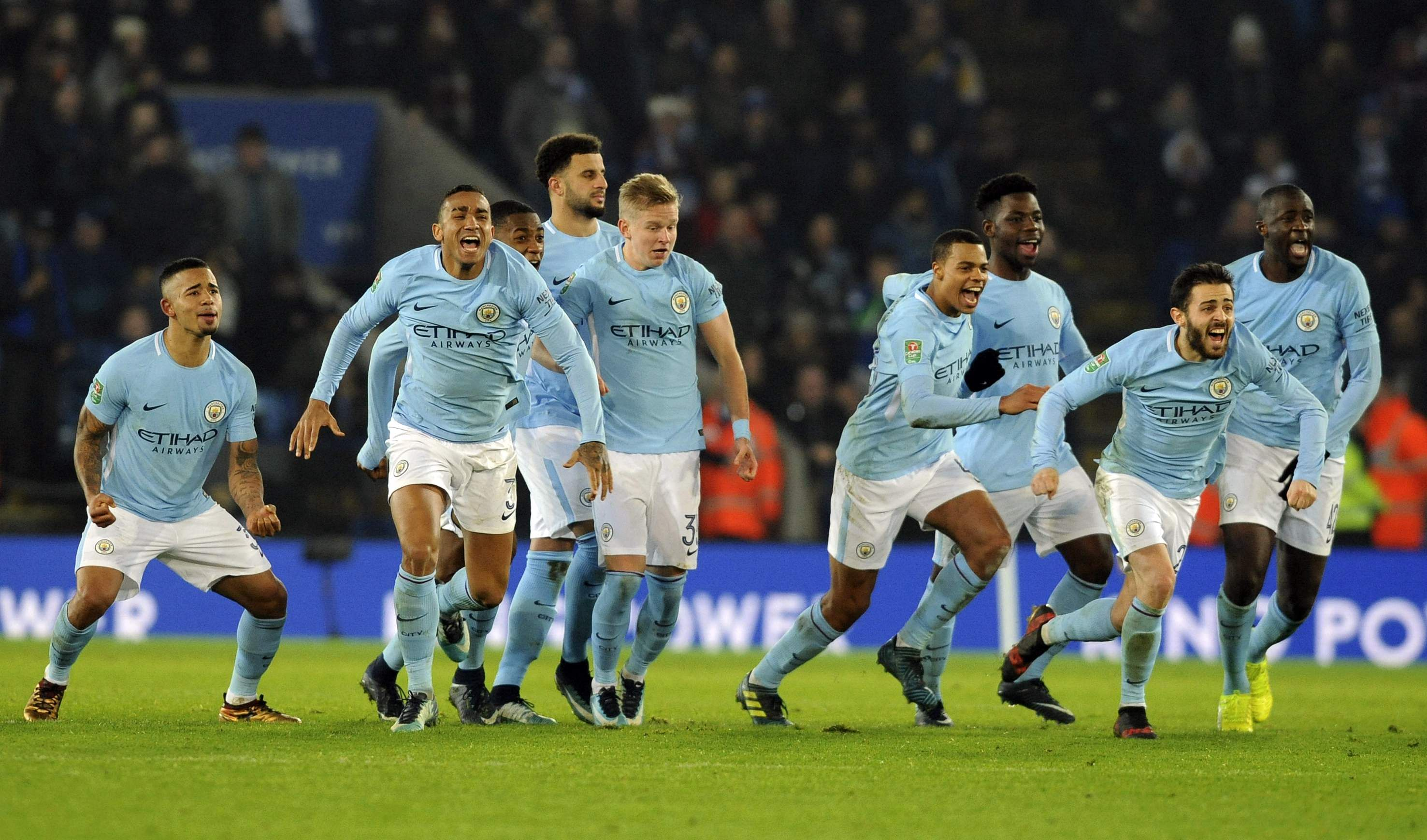 Manchester City beats Leicester in shootout to reach ...