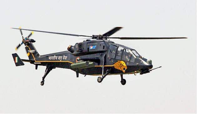 India Launches $500 Mln Program to Acquire 15 Light Combat Helicopters