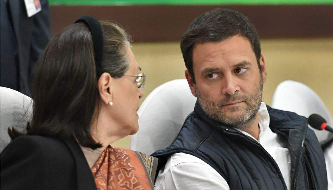 Sonia Gandhi hopes that Congress leaders would work with Rahul Gandhi