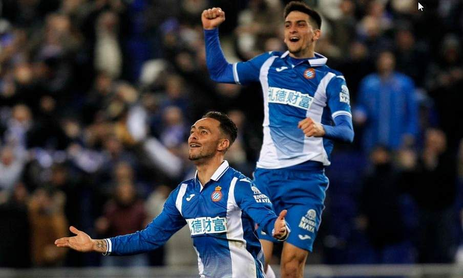 Atletico Madrid lose late at Espanyol