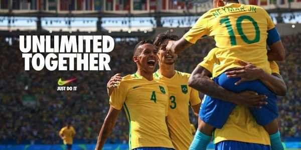 10152b8e10b Brazil football team including superstar Neymar in one of Nike s ads  (Twitter Nike Soccer)