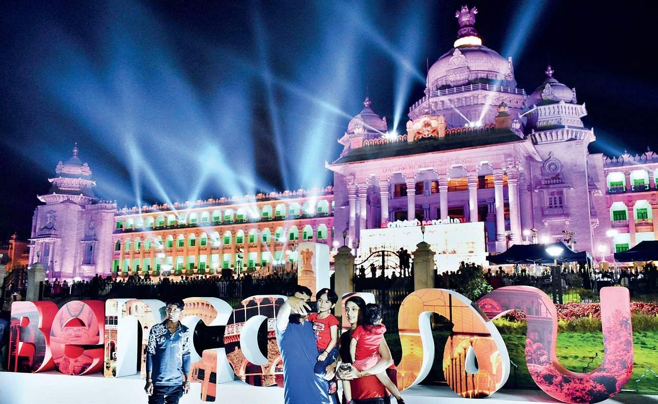 India first: Bengaluru gets a logo