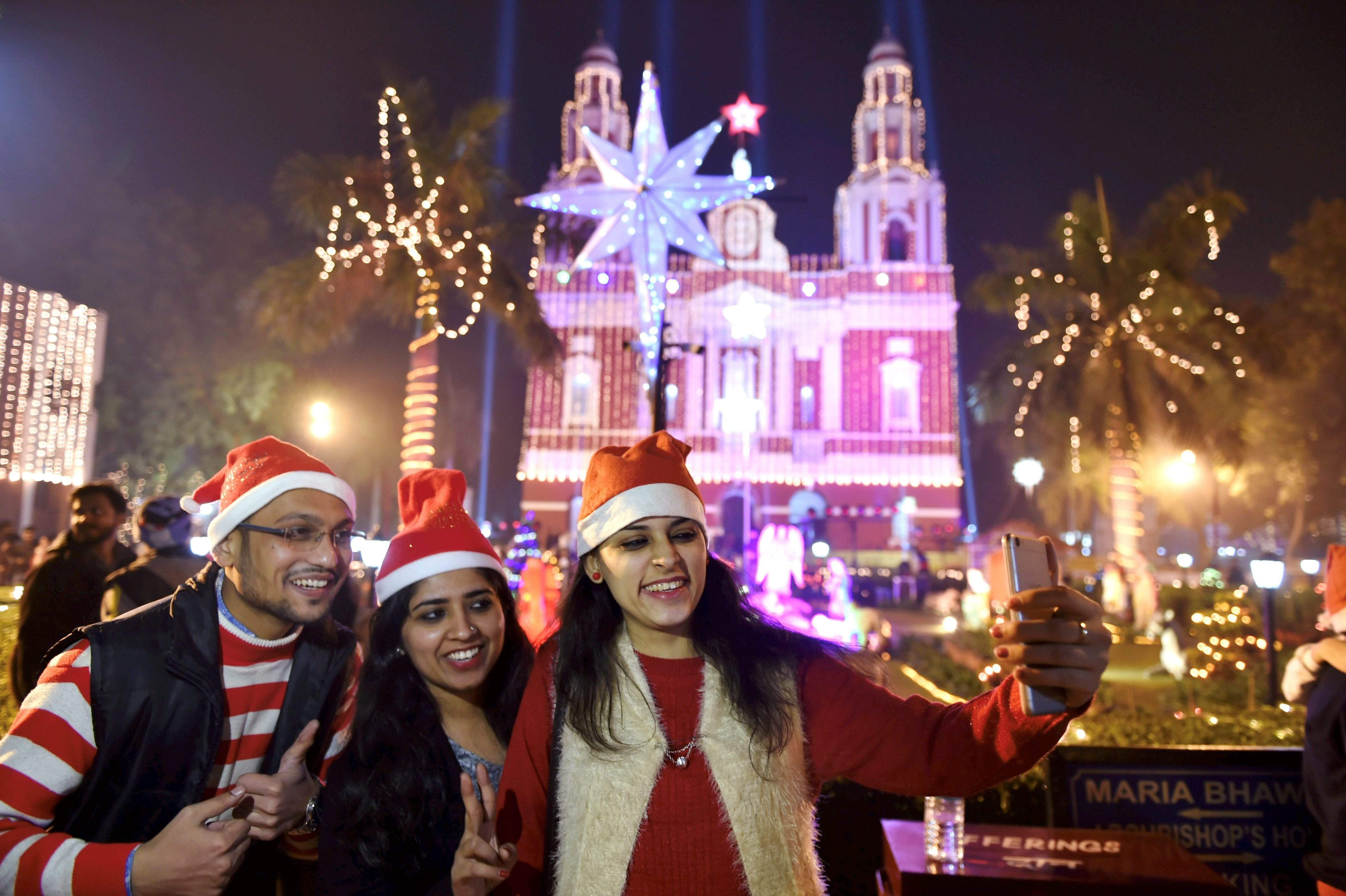 Ho..Ho..Hope you have been good this year. Merry Christmas!- The New Indian Express