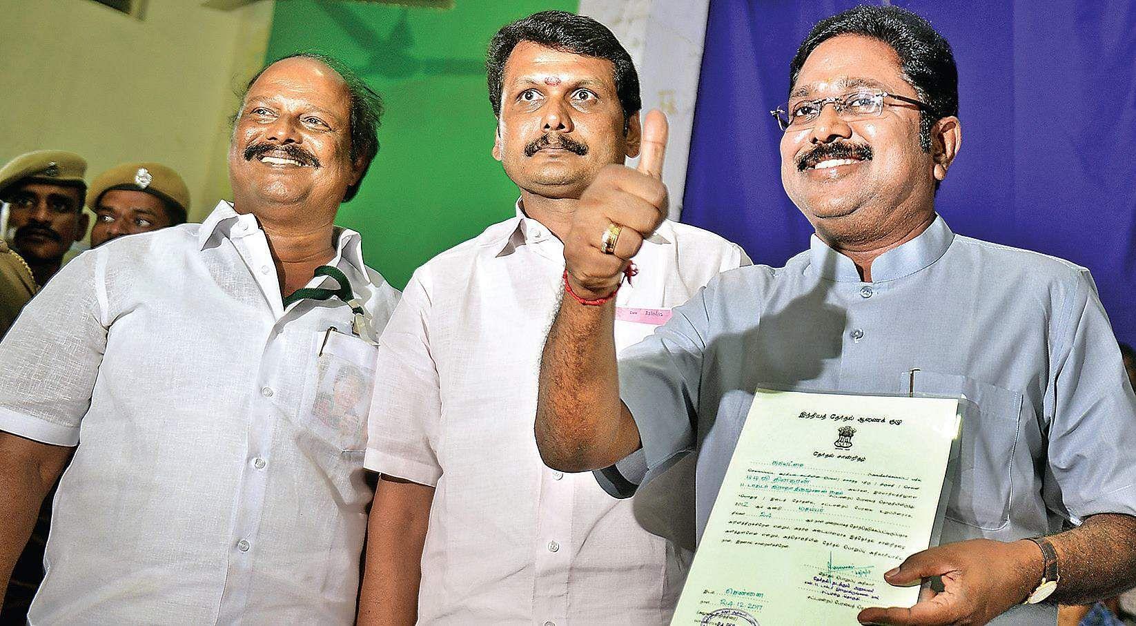 Dhinakaran wins RK Nagar bypoll, stuns AIADMK