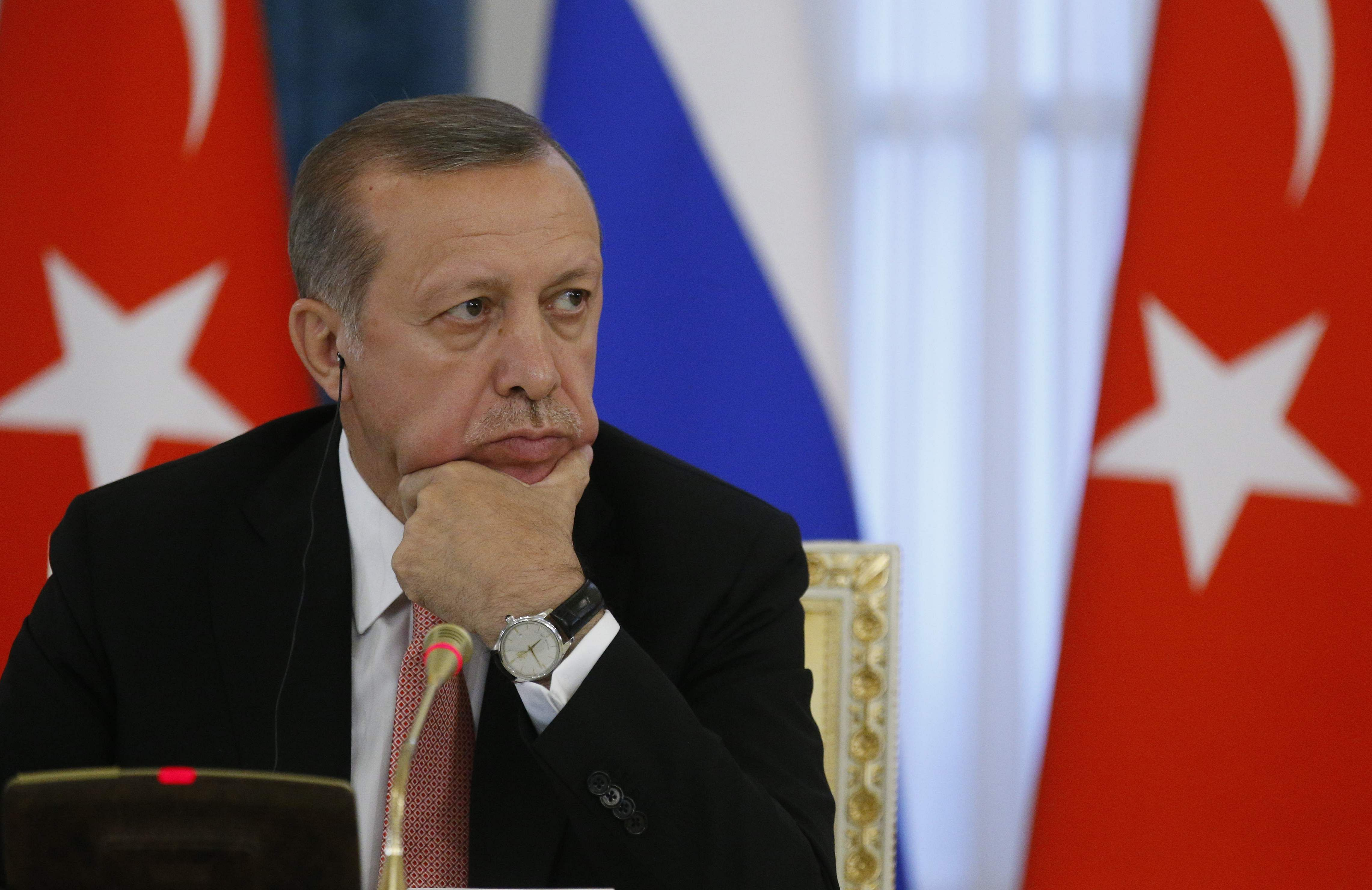 Image result for Erdogan vows to uproot terror nests in Kurd-controlled Syria