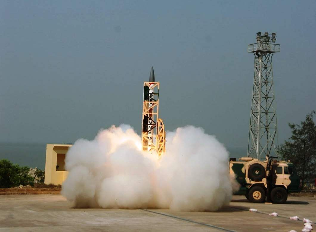 India successfully test-fires supersonic interceptor missile