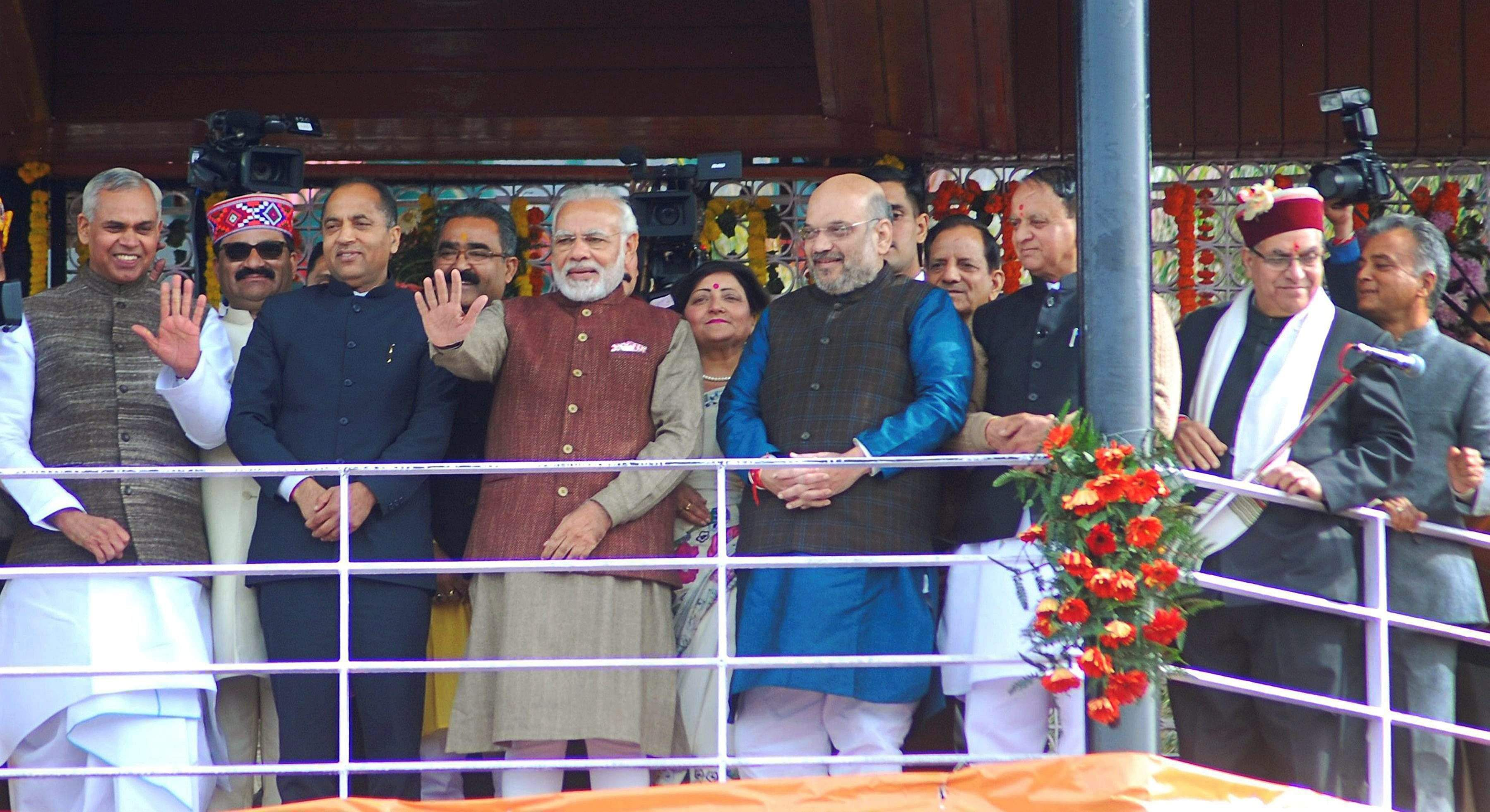 Modi, Shah to attend swearing-in of Jairam Thakur as Himachal CM