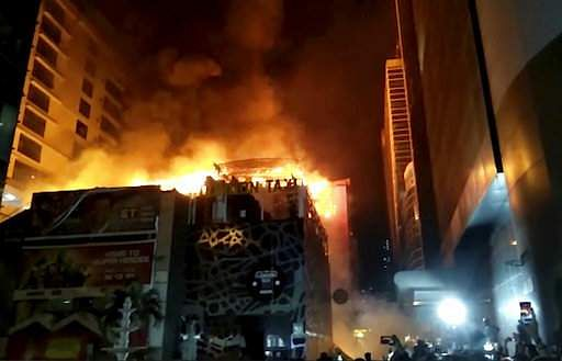 Major fire breaks out in Kamala Mill compound, three injured