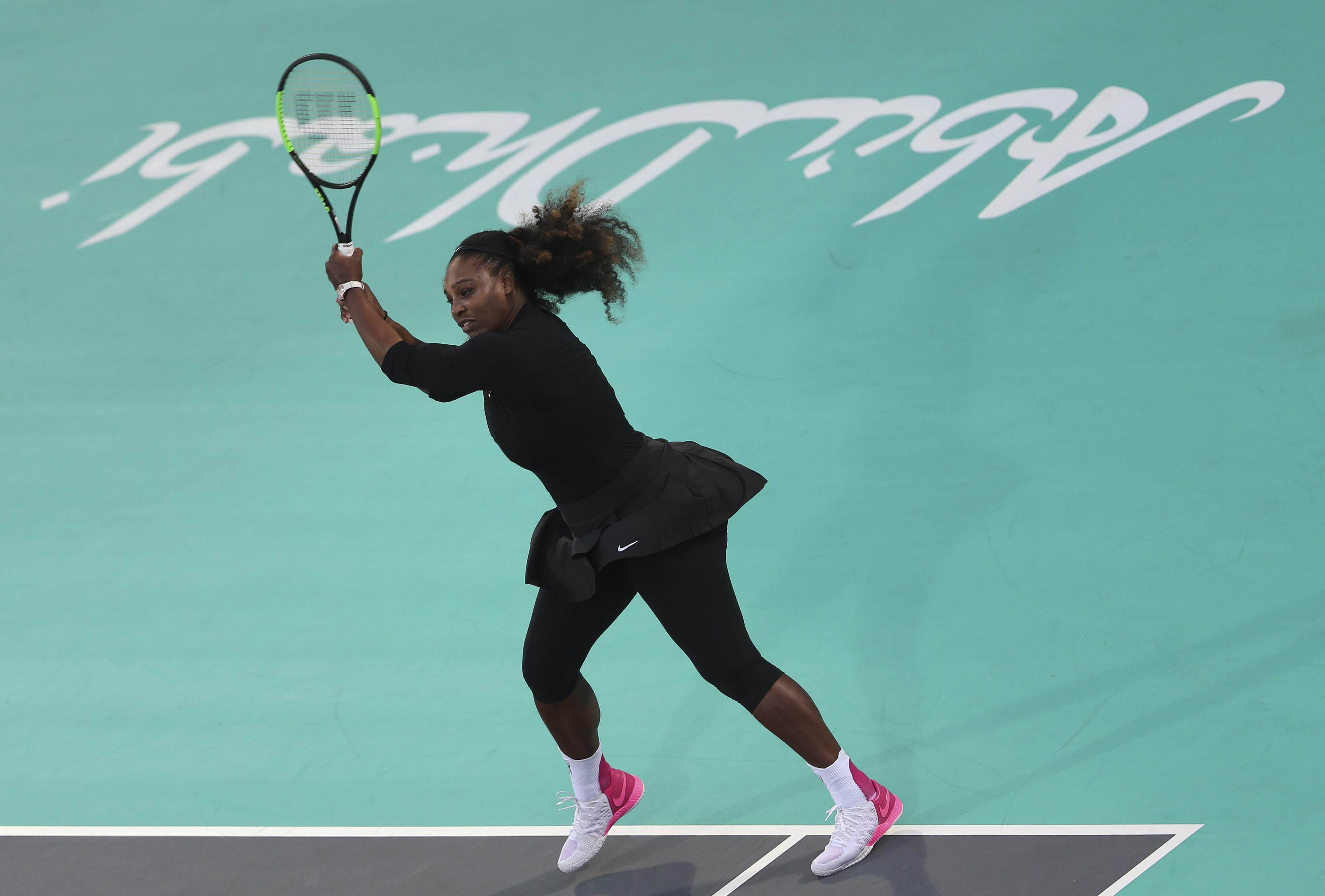 Serena williams loses to french open champion jelena ostapenko in serena williams nvjuhfo Image collections