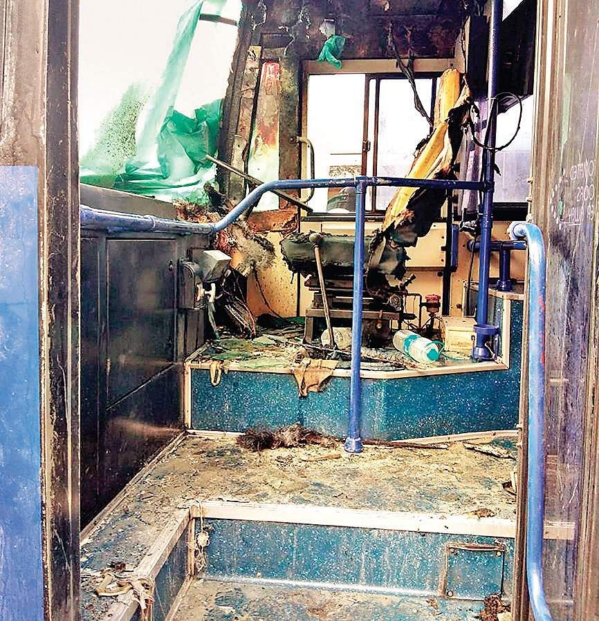 IndiGo passenger bus catches fire at Chennai airport; no injuries reported