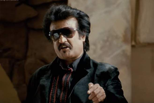 'Kanna, panni dhan Kootama varum. Singam singleaa dhaan varum' from Sivaji: The Boss Only pigs come in groups, the tiger comes alone