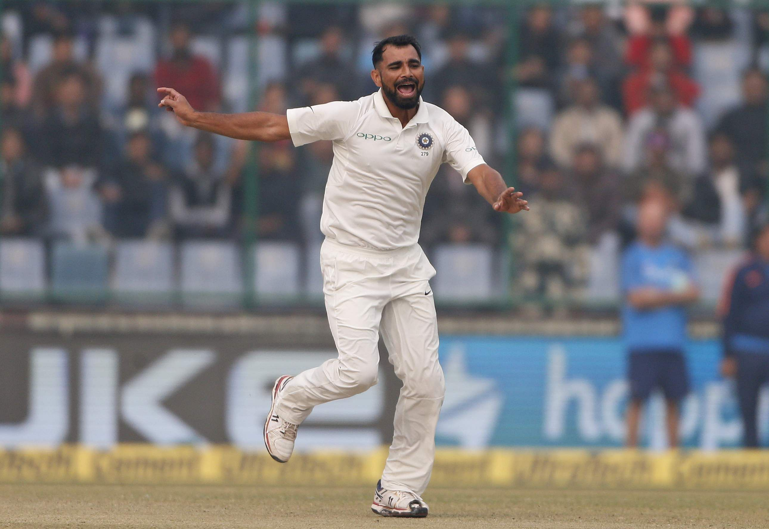 We are more used to pollution, says Mohammed Shami