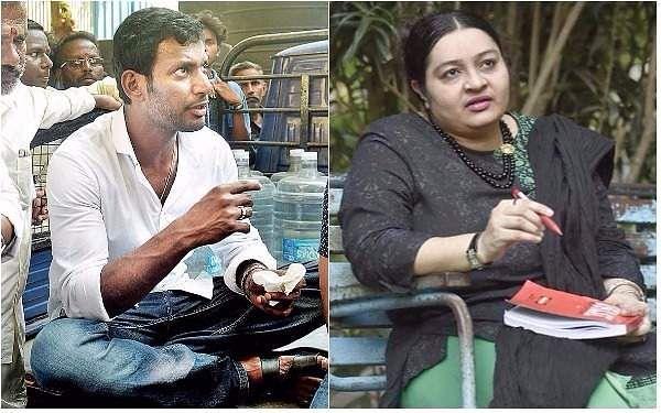 RK Nagar bypoll: nominations of actor Vishal, Jaya's niece Deepa rejected