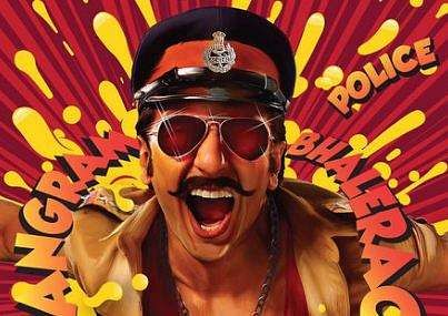 Simmba first look: Ranveer Singh shows off his quirky avatar