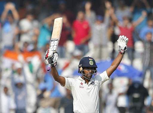 Rahane replaces Nair in Indian team for Test match against Bangladesh
