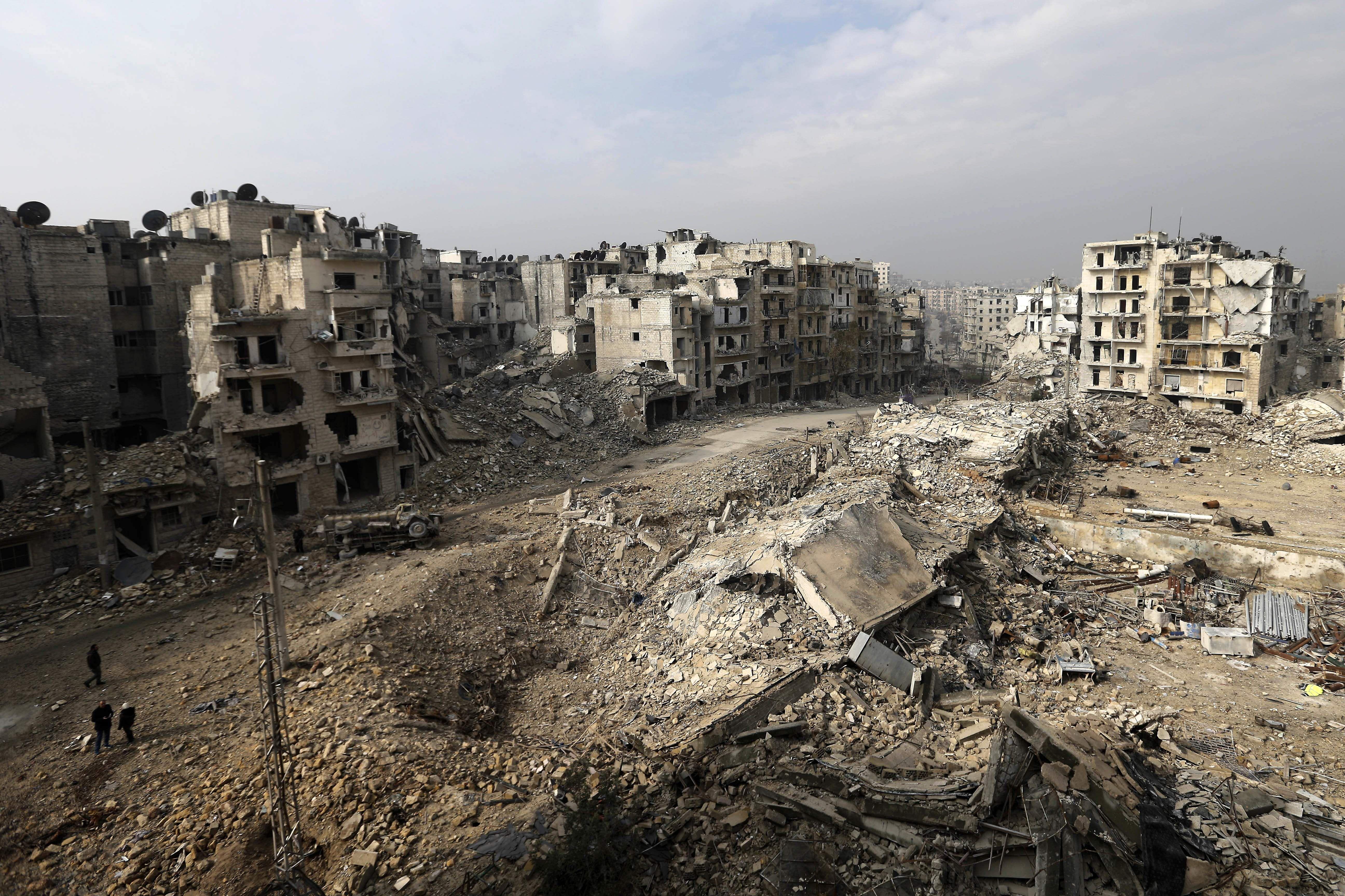 European union unveils reconstruction plan for war torn - Fotos de damasco ...