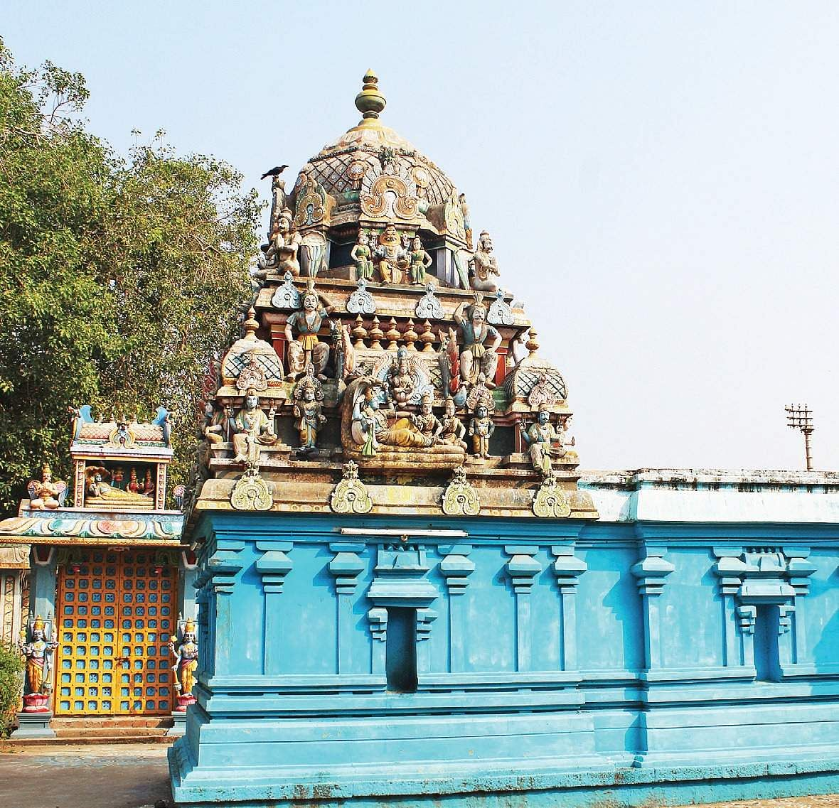 Vishnu temple in an ancient Chola hub- The New Indian Express