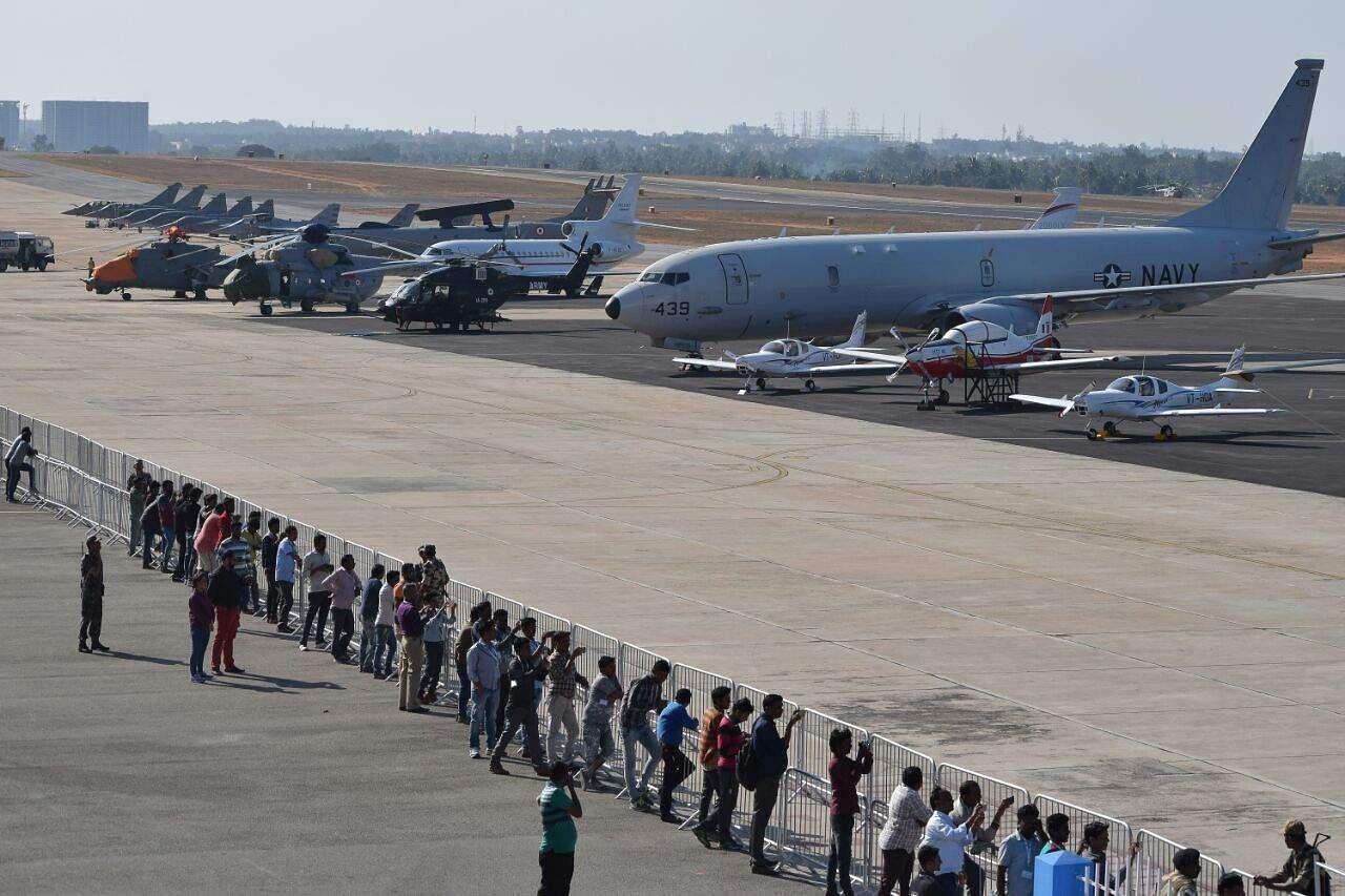 Aerobatics by Indian Air Force's 'Surya Kiran' and 'Sarang' teams will enthral the spectators.  | EPS Jithendra M