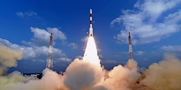 ISRO successfully launched a record 104 satellites including India's earth observation satellite on-board PSLV-C37/Cartosat2.   PTI