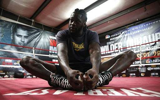 Deontay Wilder to defend world title against Luis Ortiz