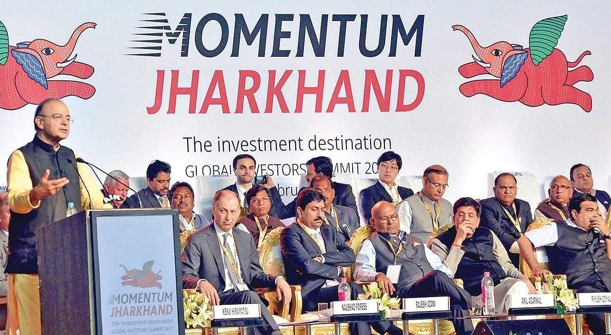 Global Investors' Summit held in Jharkhand, Narendra Modi extends best wishes