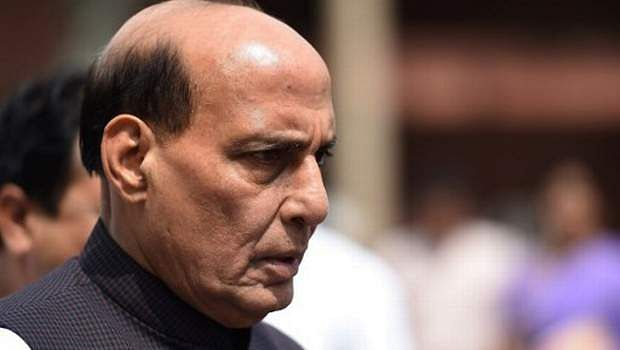 Rajnath Singh criticises Congress for Manipur blockade