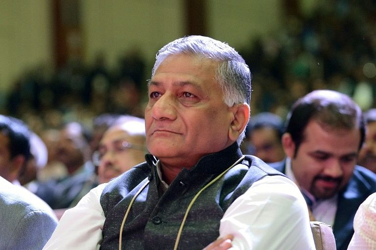 Union Minster General V K Singh. | AFP