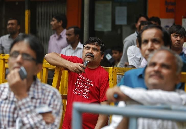 Sensex trading flat due to profit-taking, mixed Asian cues