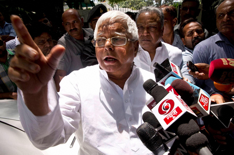 RJD chief Lalu Prasad Yadav (File | PTI)