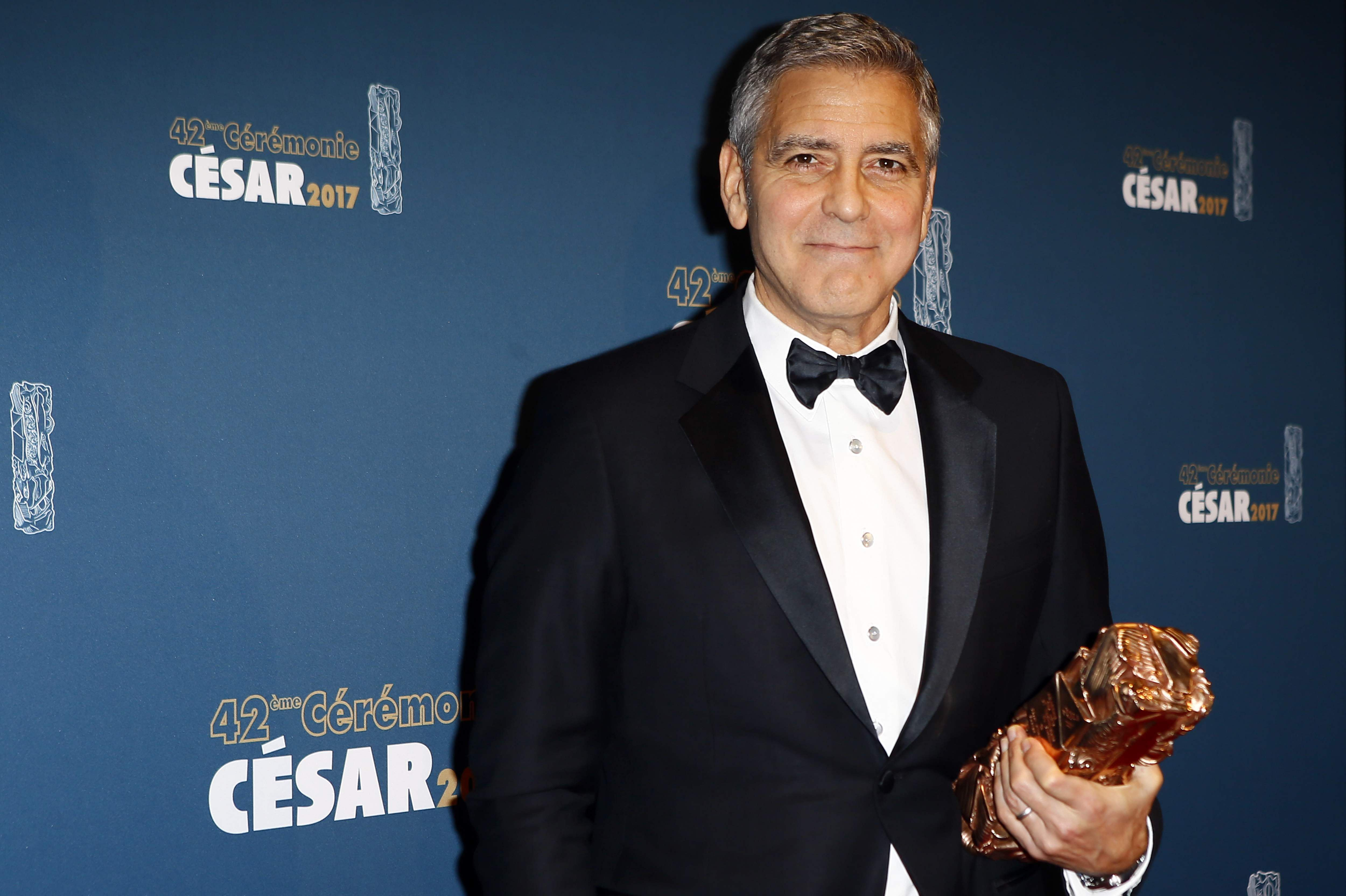 Here's Proof That Clooney Only Gets Better With Age - Page 3 France_Cesar_Awards_Seng