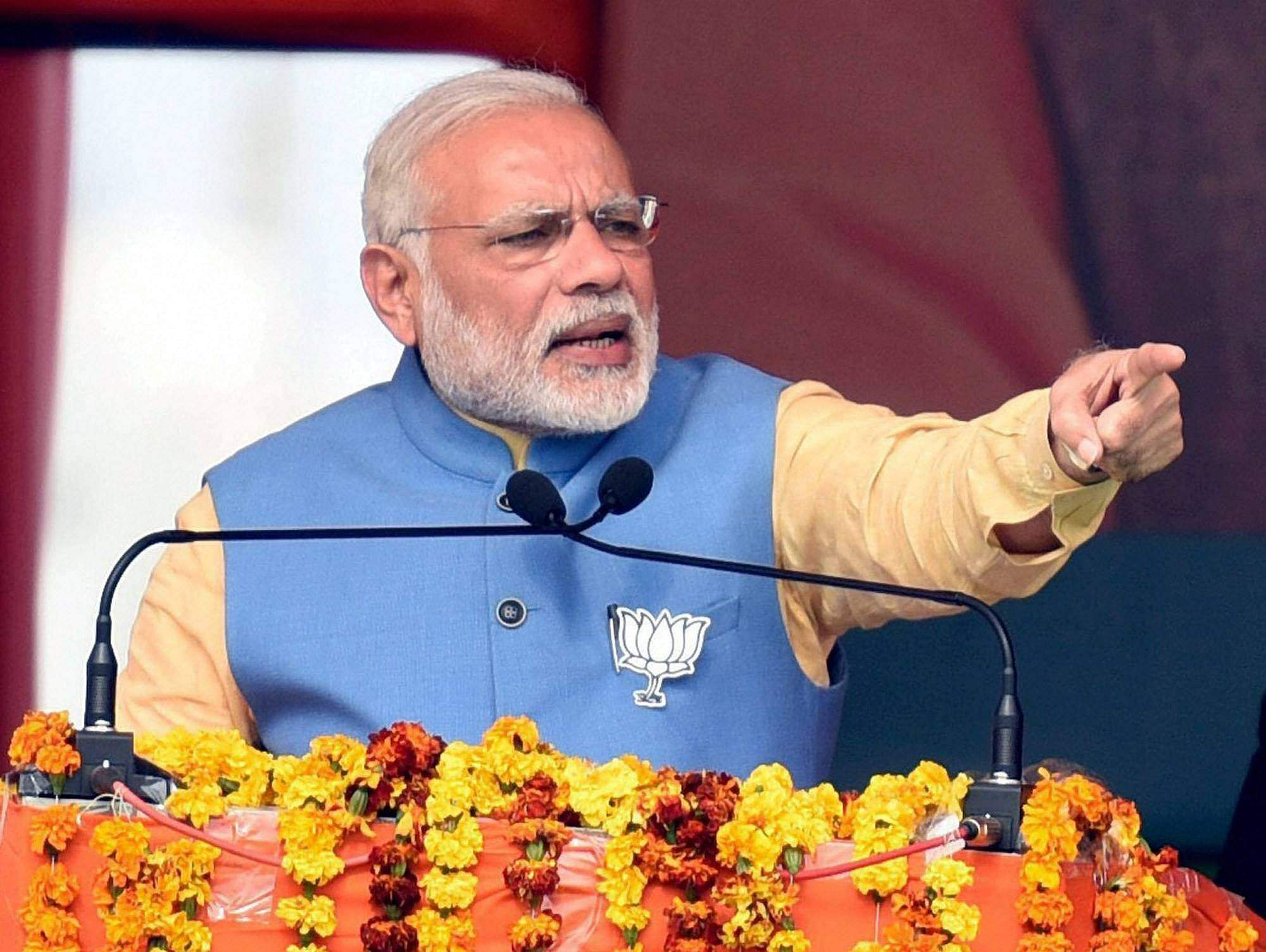 Manipur polls pm modi to address rally in imphal today - Prime minister of india office address ...