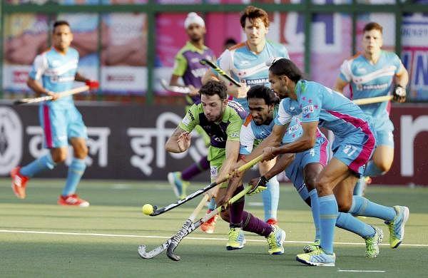 Hockey India League: UP Wizards ride on Mazzilli's late ...