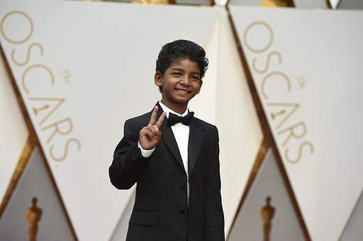 Sunny Pawar arrives at the Oscars on Sunday, Feb. 26 at the Dolby Theatre in Los Angeles. (Photo | AP)