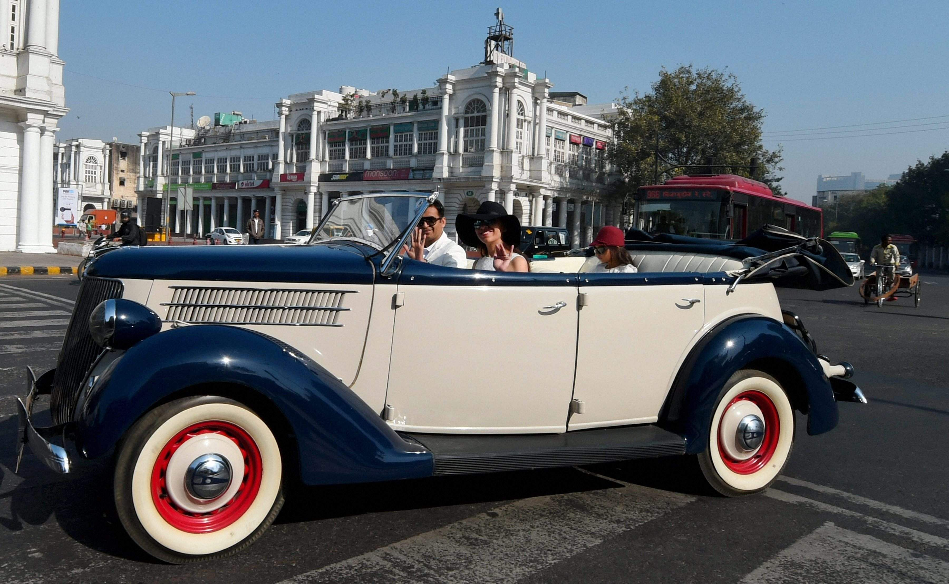 51st Statesman vintage classic car rally at New Delhi- The New ...