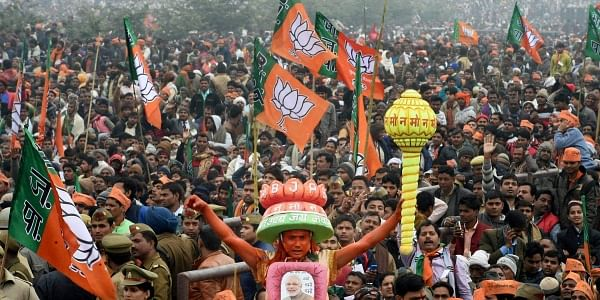BJP supporters, UP